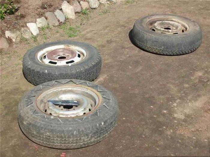 Second Life of Tires (15 pics)