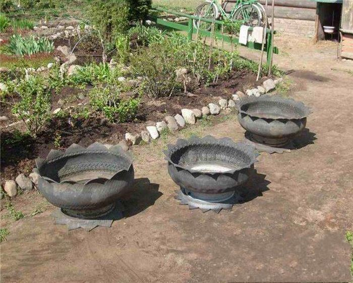 Second Life of Tires (15 pics)