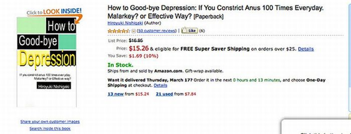 Some Strange Books on Amazon (20 pics)