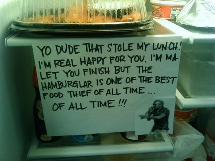 Passive Aggressive Fridge Notes (30 pics)