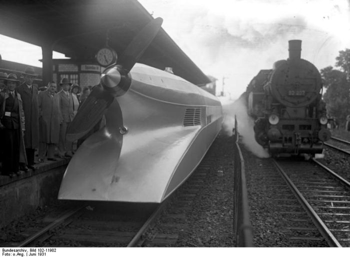 Amazing German Rail Zeppelin (Schienenzeppelin) (7 pics)