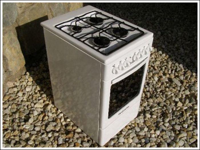 Gas Stove Computer Case Mod (31 pics)