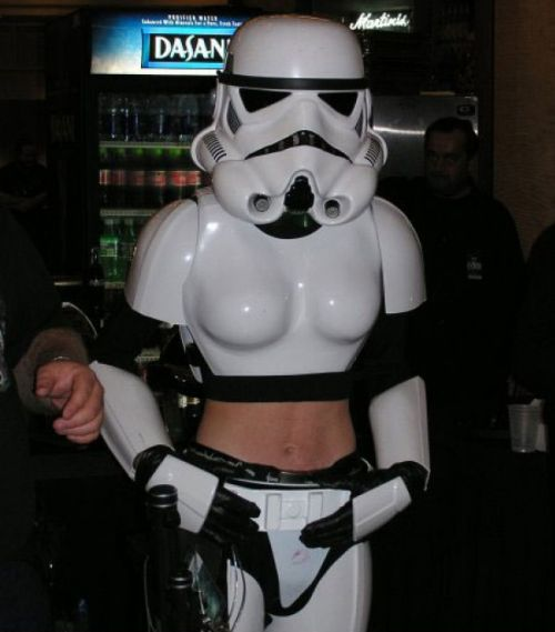 Never Trust Any One in a Stormtrooper Costume (2 pics)