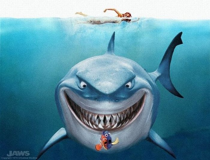 Photoshopping Disney Characters (24 pics)