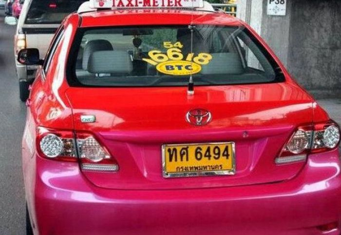 Cab Rules in Thailand  (7 pics)