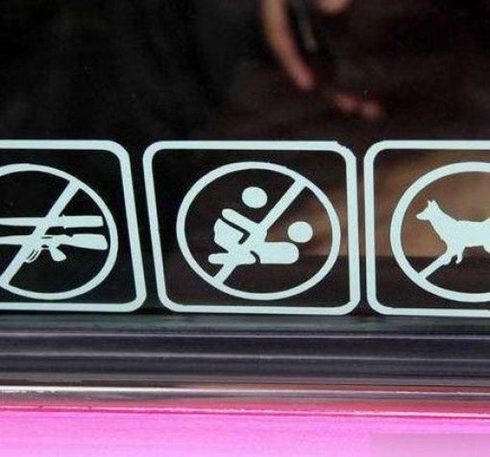 Cab Rules in Thailand  (7 pics)