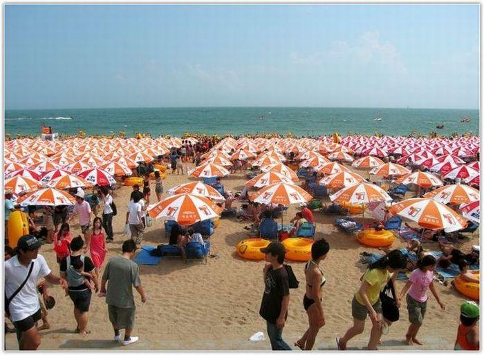 Beach in South Korea (12 pics)