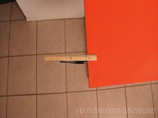 Gravity Ruler Trick
