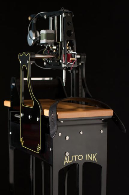 Auto Ink - is a Mysterious Tattoo Device (4 pics + video)
