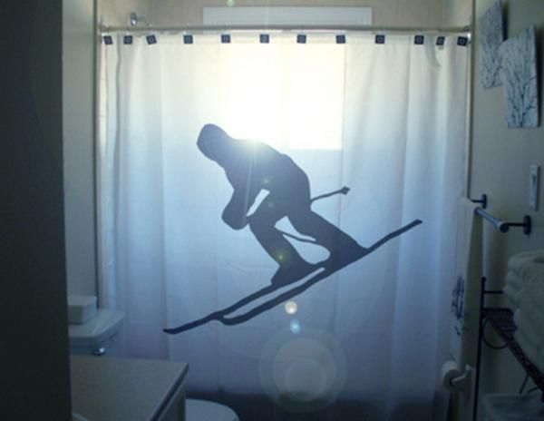 Funny Curtains for Your Bath (20 pics)