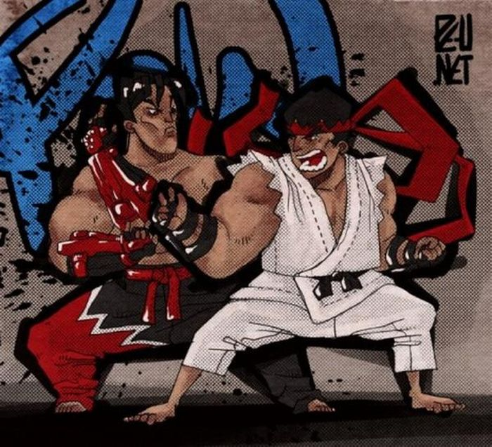 Street Fighter Graffiti Art (7 pics)