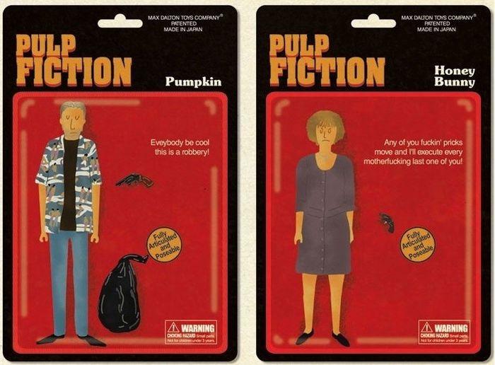 Pulp Fiction Dolls (5 pics)