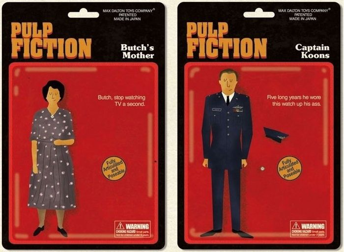 Pulp Fiction Dolls (5 pics)