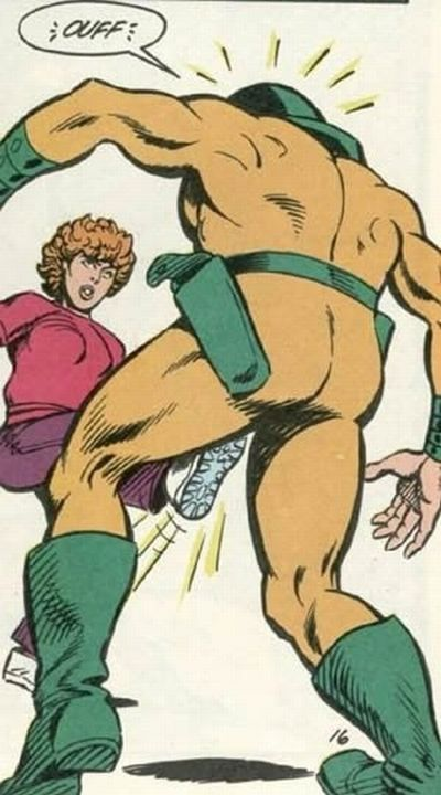 Dangerous Kicks To The Crotch in Comics (21 pics)