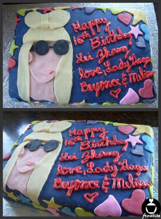 Lady Gaga Cakes (25 pics)
