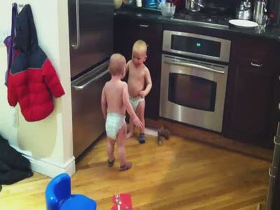 Twin Baby Boy Conversation