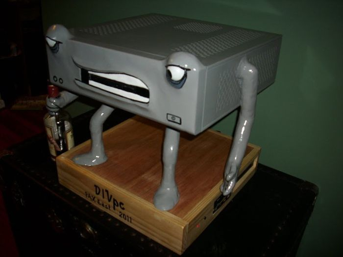 Good PC Modding. How to Build DIVpc (20 pics)