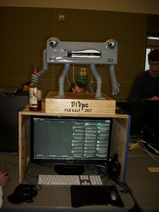 Good PC Modding. How to Build DIVpc (20 pics)