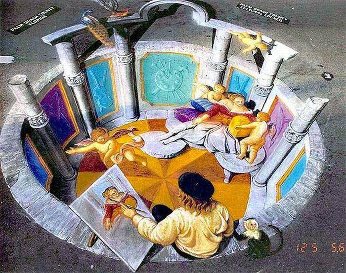 Amazing 3D Paintings (21 pics)