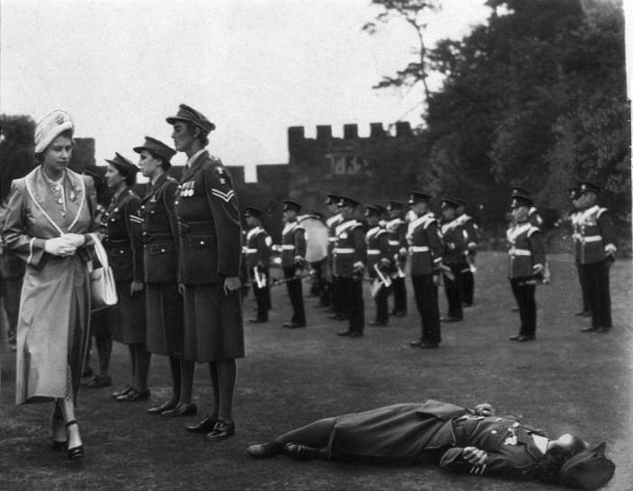 Fainting During Official Ceremonies (16 pics)