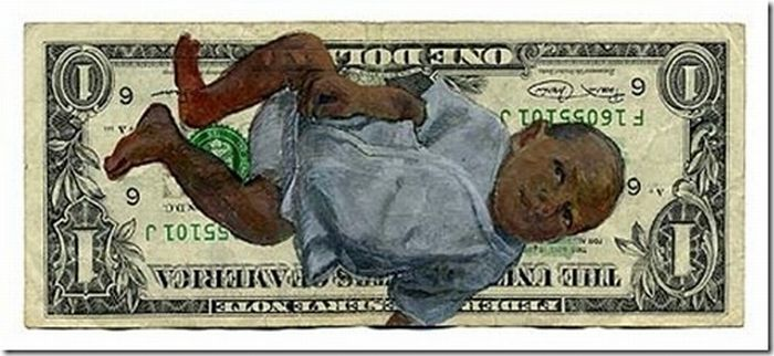 Best Examples of Defacing Money (30 pics)
