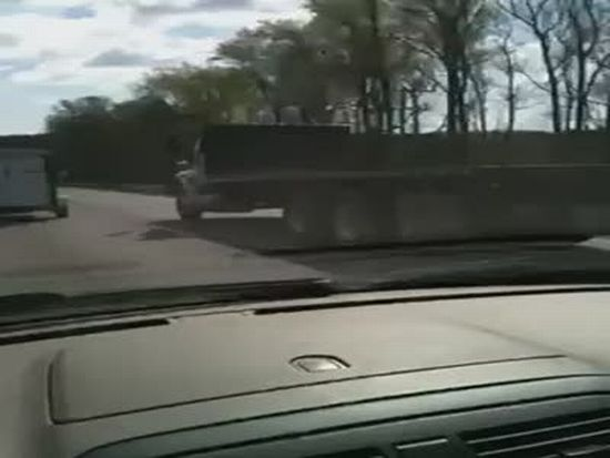 Unexpected Car Accident. The Driver is SO Lucky