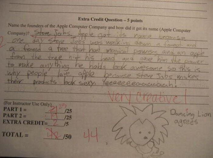Funny Exam Answers. Part 4 (30 pics)