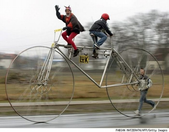 Funny and Weird Bicycles (30 pics)