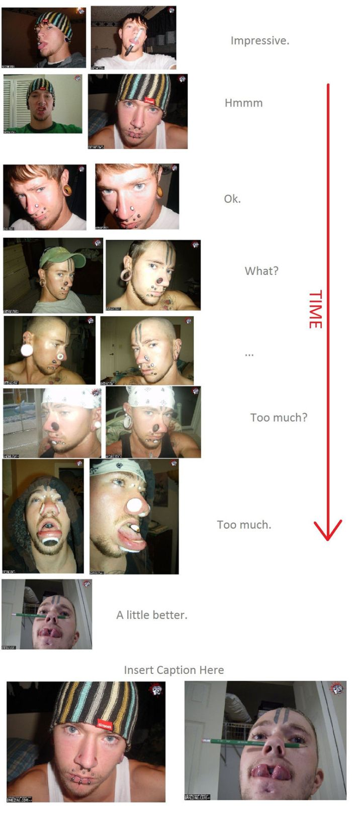 Piercing and Face Jewelry (1 pic)