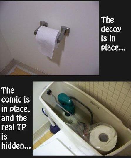 Toilet pranks (10 pics)