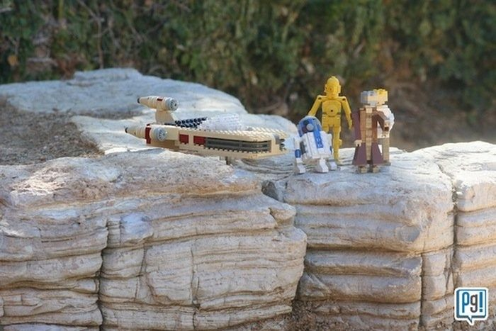 Amazing LEGO Star Wars Land (14 pics)