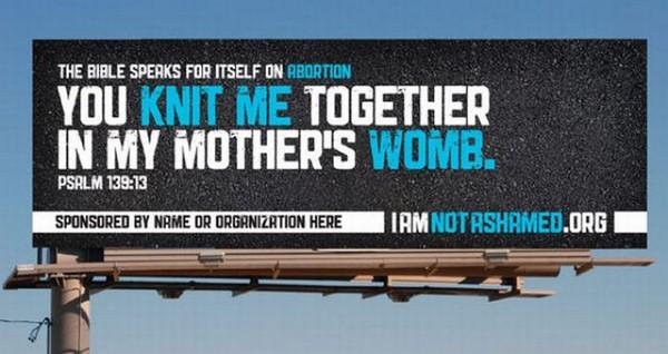 Crazy Anti-Abortion Billboards (26 pics)