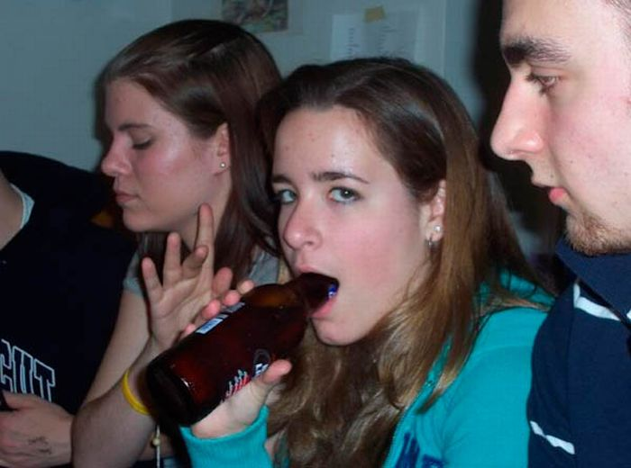 Funny Ways to Drink Beer (46 pics)
