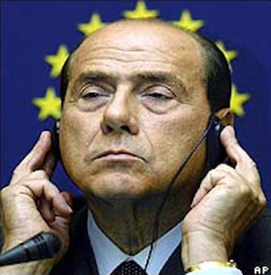 Silvio Berlusconi's Favorite Hand Gestures (40 pics)