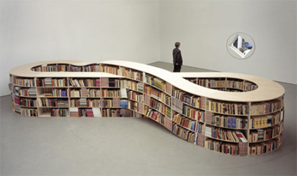 Unique Bookshelves (30 pics)