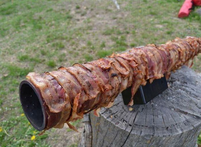 Ridiculous Bacon Bazooka (9 pics)