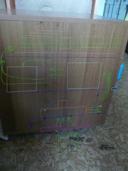 Weird Nightstand Computer Case Mod (18 pics)