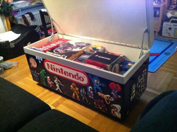 Cool NES Coffee Table (18 pics)