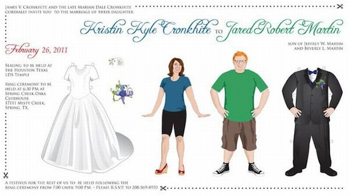 Funny and Creative Wedding Invitations (30 pics)