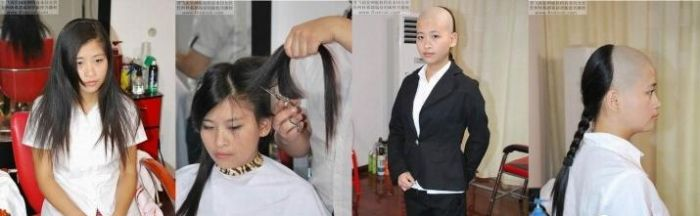 Crazy Chinese Hairstyles (13 pics)