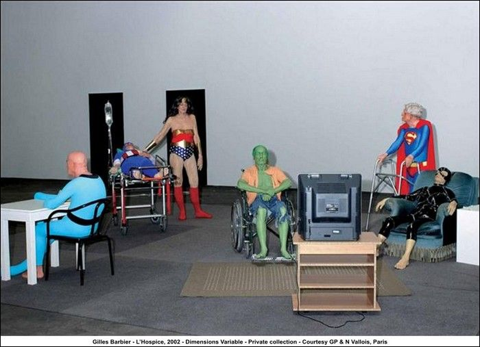 Retired and Old Superheroes (17 pics)