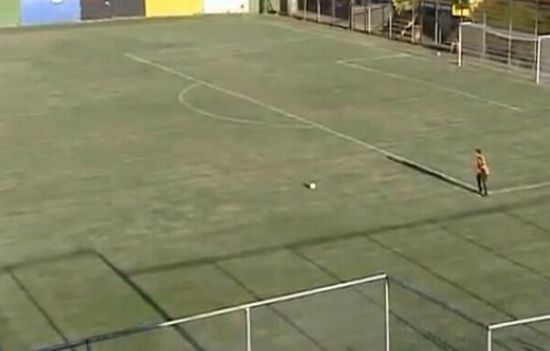 Goal Over The Field