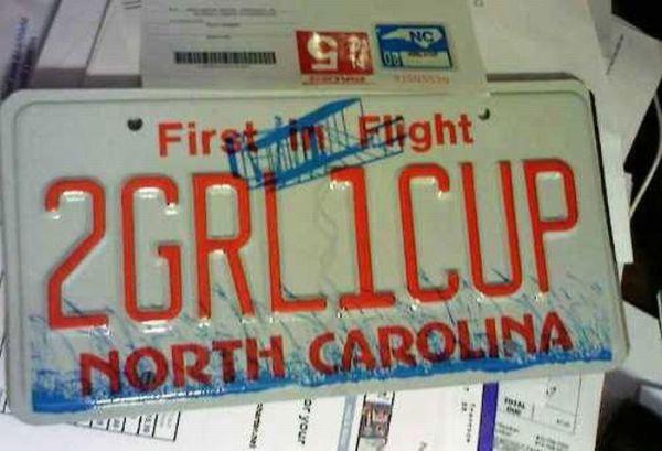 Hilarious License Plates (21 pics)