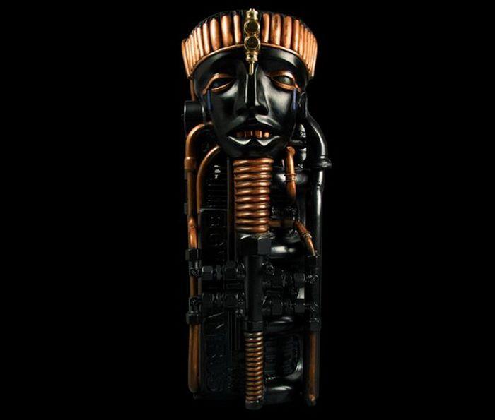 Stunning Steampunk Sculptures by Pierre Matter (28 pics)