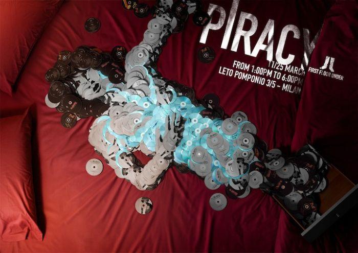 Anti-Piracy CD Art (6 pics)