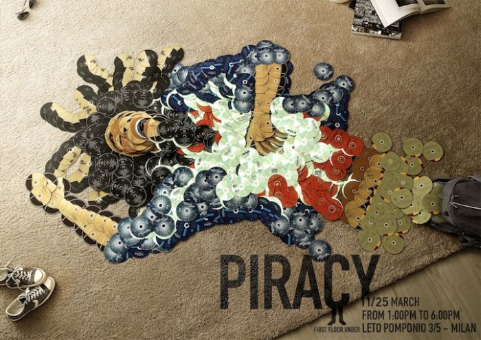 Anti-Piracy CD Art (6 pics)