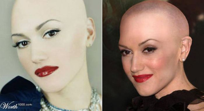 Bald Celebrities (20 pics)