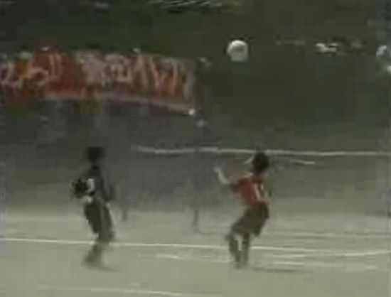 Tornado Appears During Soccer Game