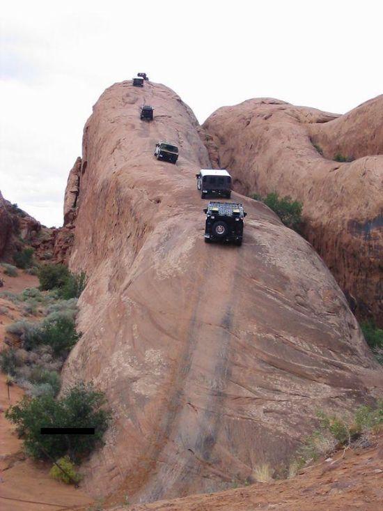 Dangerous Road (3 pics + video)
