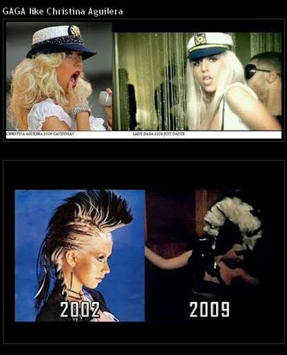 "Lady ""Copypaste"" Gaga (15 pics)"